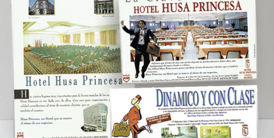 Hotel Husa Princesa folleto