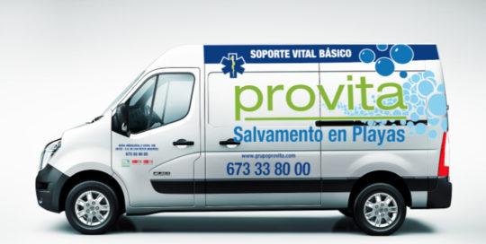 Furgoneta de Provita