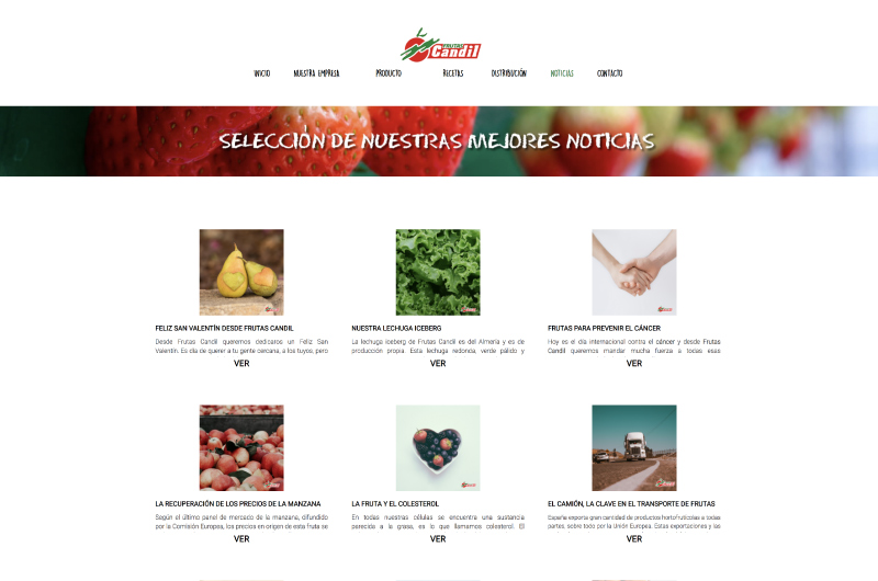 Frutas Candil