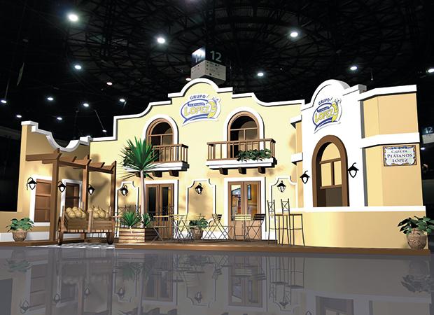Diseño del stand de GPL