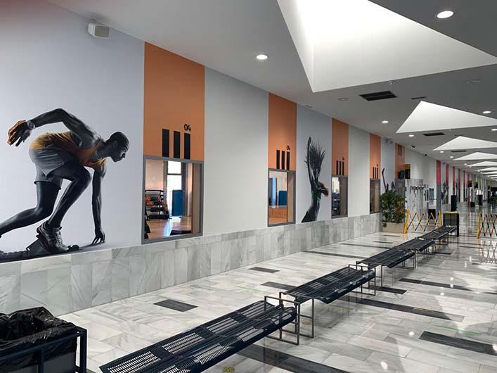 decoracion del gimnasio valdelasfuentes