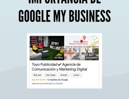 Importancia de Google My Business